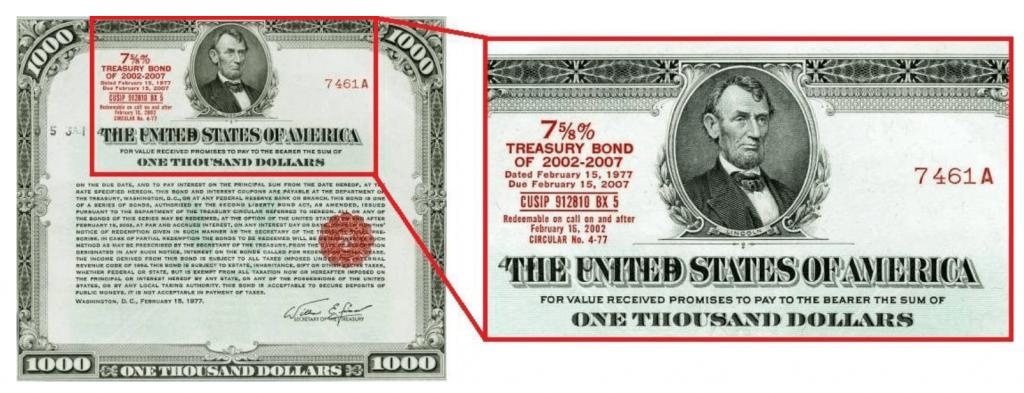 Coupon on treasury bonds